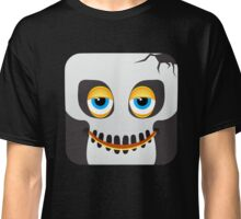 Zombie Undead Emoji Emoticon Smiley Face Classic T-Shirt