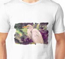 Great Egret: Tropical Dreams Unisex T-Shirt