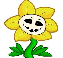 Cute Flowey by geekmythology