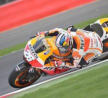 Silverstone MotoGP - Pedrosa by Merlin72
