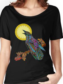 Electric Crow Women's Relaxed Fit T-Shirt