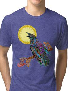 Electric Crow Tri-blend T-Shirt