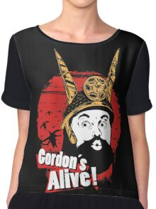 Gordon's Alive! Chiffon Top