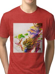 psychedelic tree lady Tri-blend T-Shirt