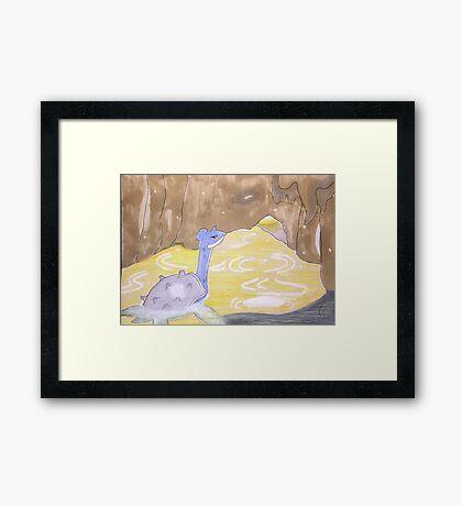 Lapras Framed Print