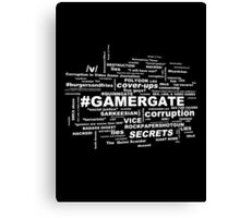 #GamerGate Canvas Print