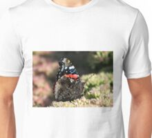 A Red Admiral Butterfly Unisex T-Shirt