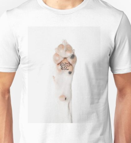 END BSL PAW Unisex T-Shirt