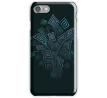 3D Psychedelic Square Spirals Explosion iPhone Case/Skin