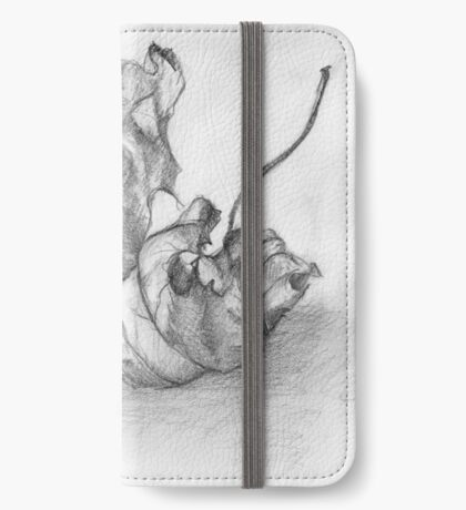 Dry Sycamore Leaf iPhone Wallet/Case/Skin