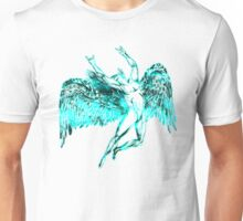 ICARUS THROWS THE HORNS - super bright neon Unisex T-Shirt