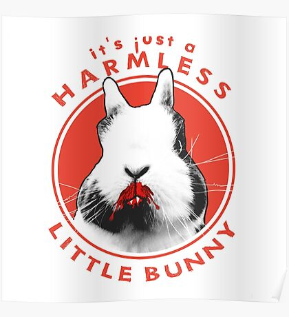 Just a Harmless Little Bunny Poster