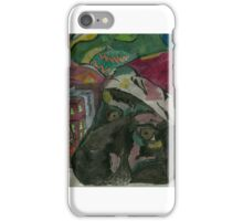 Maya under the Christmas tree iPhone Case/Skin