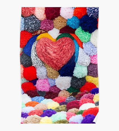 abstract heart Poster