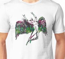 ICARUS THROWS THE HORNS - northern lights Unisex T-Shirt