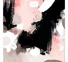 Modern Brush Strokes Photographic Print