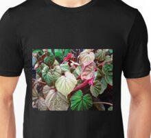 Multi-coloured Leaves Unisex T-Shirt