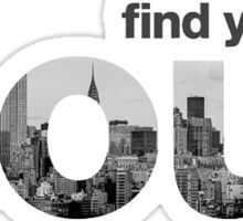 Find your soul- soul cycle Sticker