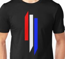 Skrillex Red White & Blue Logo Unisex T-Shirt