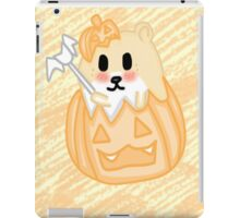 Cute hamster in a  Pumpkin  iPad Case/Skin