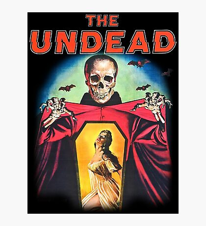 The Undead Shirt! Photographic Print