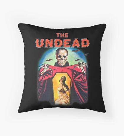 The Undead Shirt! Throw Pillow