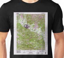 USGS TOPO Map California CA Calistoga 100000 1997 24000 geo Unisex T-Shirt