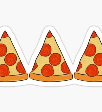 tri delt pizza Sticker
