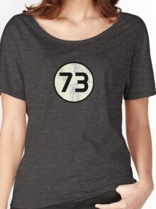 73 Sheldon Distressed Women's Relaxed Fit T-Shirt