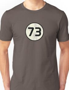 73 Sheldon Distressed Unisex T-Shirt