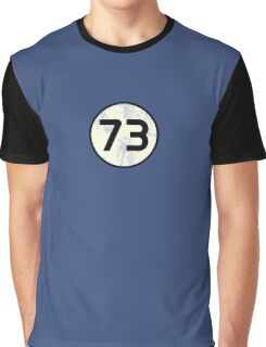 73 Sheldon Distressed Graphic T-Shirt
