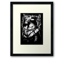 so long and thanks! Framed Print