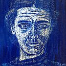 woman in blue by ffarff