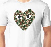 CDG Bape Camo Unisex T-Shirt