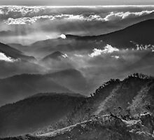 High country ridges by Kevin McGennan