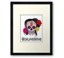 Mexican Calaveritas - Skulls Framed Print
