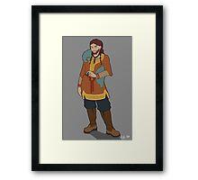 Dwarf Woman Framed Print