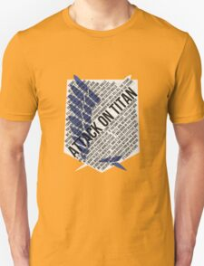 Recon corps Typography T-Shirt