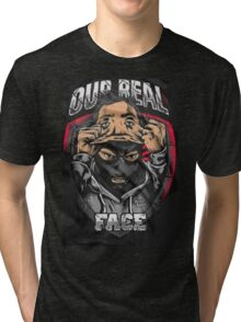"ULTRAS - HOOLIGANS ""Real Face"" Tri-blend T-Shirt"