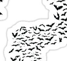 Riddler Bats question mark Sticker