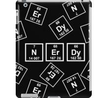 Nerdy Periodically (White) iPad Case/Skin