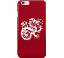 White Dragon iPhone Case/Skin