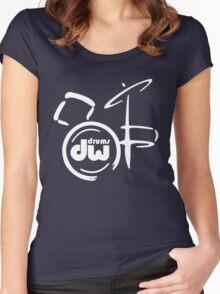 DW Drum music instrumen Women's Fitted Scoop T-Shirt