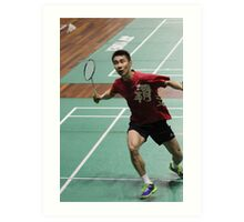 Lee Chong Wei Art Print