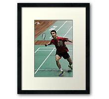 Lee Chong Wei Framed Print