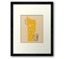Tuba Bug Framed Print
