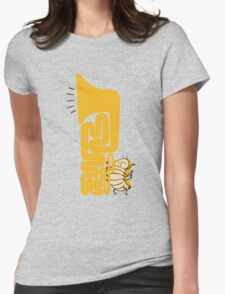 Tuba Bug Womens Fitted T-Shirt
