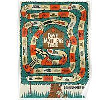 DAVE MATTHEWS BAND  2016 Summer Tour Poster