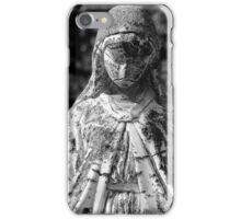 Saint Mary 1 BW iPhone Case/Skin