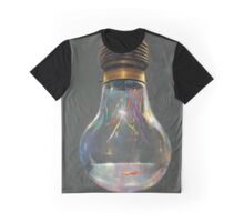 Light Bulb Fish Graphic T-Shirt